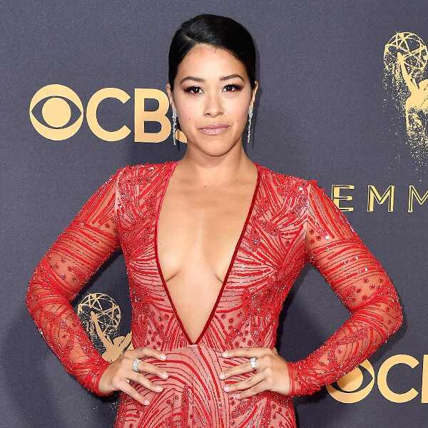 Gina Rodriguez, 2017 Emmy Awards, Arrivals